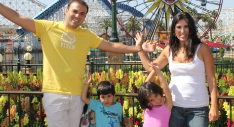 Saeed Abedini and his family.  From Fox News online.