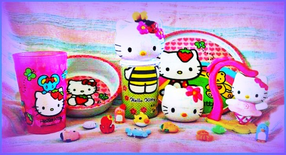 Hello Kitty is satanic and bad for Christians  (>^_^<)  KIDDING!