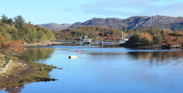 Random peaceful scene: Badachro Bay in Scotland  (ColinBroug at stock.xchng).