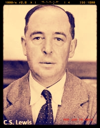 CS Lewis - mystery photo (modified from internet image).