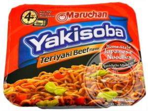 Instant (microwavable) Yakisoba.