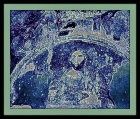 Image from Chora Church, Istanbul, Turkey (1903; CC Flikr), modified by author.