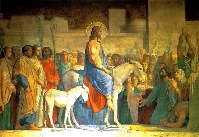 Christ's Entry into Jerusalem, by Hippolyte Flandrin