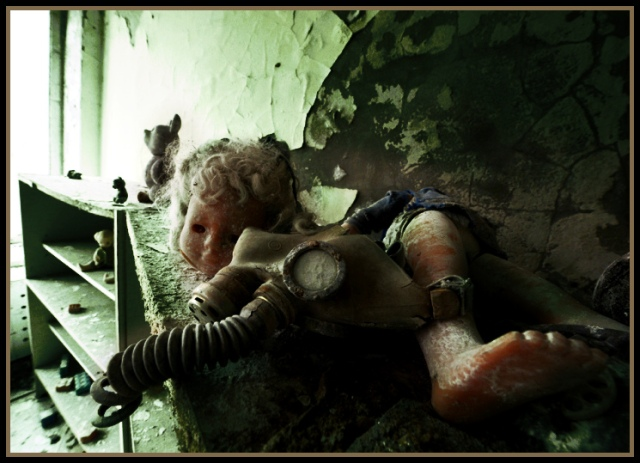 An image from Chernobyl, Russia, filtered by author (found at http://bit.ly/1t2nfGr).