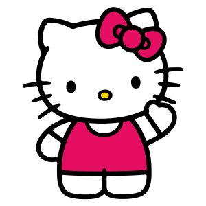 A basic Hello Kitty.  (c) Sanrio