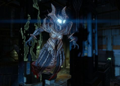 A Hive wizard in Destiny