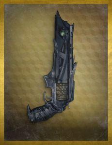 The Thorn handgun.