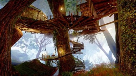 Inquisition camps are now tree houses.