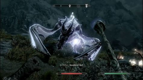 Skyrim dragon, Mirmulnir's dying words