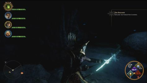 In the Forgotten Caverns, The Descent, Dragon Age