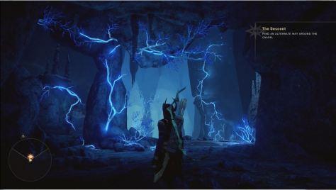 Lyrium veins in The Descent