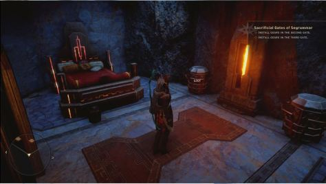 Mysterious Bed, The Descent, Dragon Age