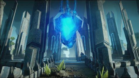 The Lyrium heart in Wellspring, The Descent