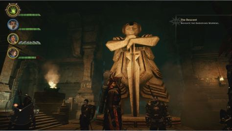 Female Dwarf statue - right? The Descent, Dragon Age