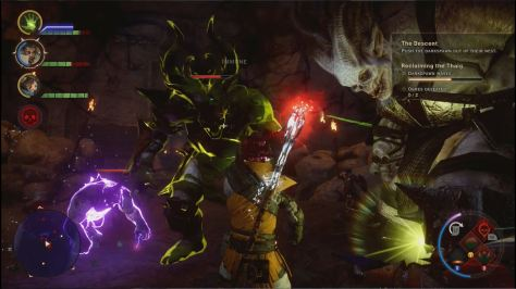 Fighting Darkspawn in The Descent, Dragon Age Inquisition