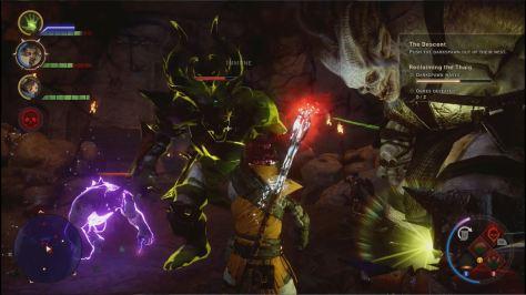 Fighting Darkspawn in The Descent, Dragon Age Inquisition