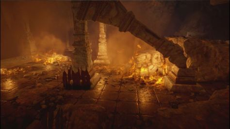 Looks like hell. Dragon Age, The Descent.