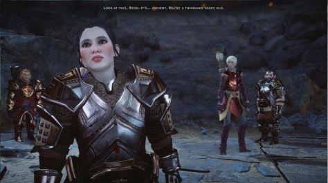 Valta at Ancient Lift, The Descent, Dragon Age