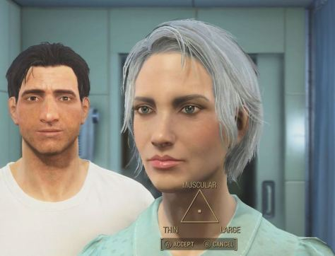 Fallout 4, character formation