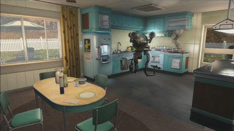 Fallout 4 pre-war home, kitchen