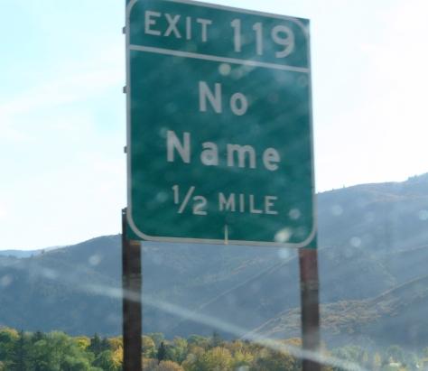 No Name, Utah