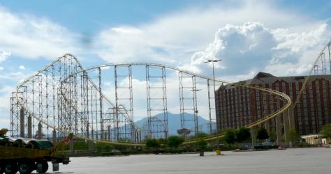 Primm roller coaster