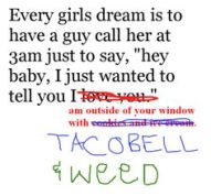 taco bell and weed