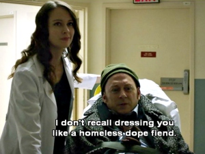 Person of Interest, ep 21 humor, 1/2