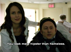 Person of Interest, ep 21 humor, 2/2