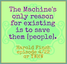 Person of Interest, The Machine