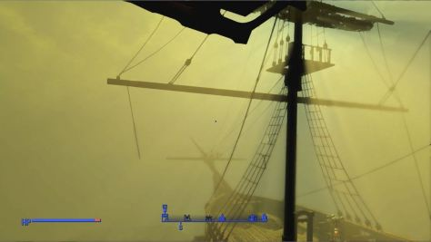 Fallout 4 Radiation Storm at USS Constitution
